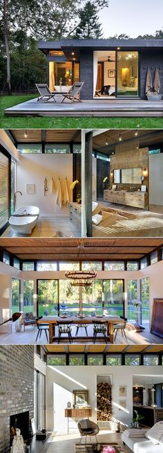 I love the nook for firewood  ~ Great pin! For Oahu architectural design visit http://ownerbuiltdesign.com