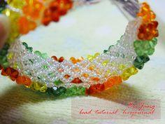 bead_tutorial: [Tutorial] Crystal Bracelet : Donut Thai Style Part 2