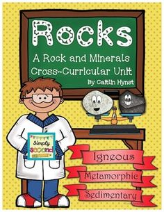 Simply Second: Rocks & Minerals Unit Must have a boat load of NF books for students to read that pertain to the unit. Elementary Science, Science Classroom, Teaching Science, Science For Kids, Earth Science, Science Activities, Science Ideas, Classroom Ideas, Science Fun
