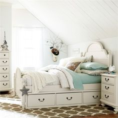 The Ella Westport Low Poster Bed is the perfect piece of furniture for your child!