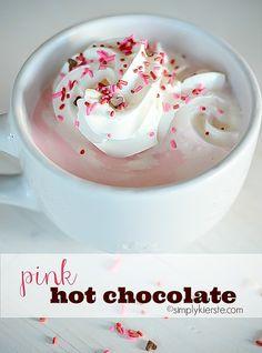 핑크 핫 초콜릿