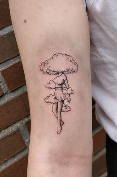 black girl outline tattoo ~ outline tattoo girl ` girl face outline tattoo ` outline of girl tattoo ` girl body outline tattoo ` black girl outline tattoo ` powerpuff girls tattoo outline ` little girl outline tattoo ` tattoo outline drawing girl Kritzelei Tattoo, Tarot Tattoo, Forarm Tattoos, Doodle Tattoo, Piercing Tattoo, Sleeve Tattoos, Cloud Tattoo Sleeve, Rain Tattoo, Red Ink Tattoos