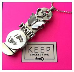 Obsessing over this ID tag – such a perfect gift for a new mama! We love seeing all the creations our fans are coming up with using our new arrivals. #KeepCollective