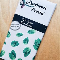 Introducing our handcrafted 72% Cacao Mint Leaves bar made with single plantation criollo beans from . and cane sugar. This bean to bar is made with bold organic peppermint infusion blended with both the mint leaf and flower from @pluckteas.We are proud to support our makers. Gluten and dairy free. Go dark and be refreshed! #veganfoodie #dairyfree #cacaolove #beantobar #gift #healthyliving #eatclean #nomnom