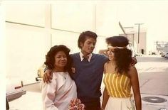 Michael Jackson, Katherine, and LaToya