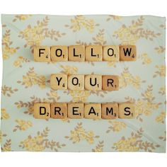 Happee Monkee Follow Your Dreams Fleece Throw Blanket | DENY Designs Home Accessories