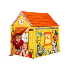 Jucarii de exterior :: Casute si spatii de joaca :: Spatii de joaca :: Cort casuta Bamse Nordic Hoj Play Houses, Toy Chest, Storage Chest, Kids Toys, Gazebo, Toddler Bed, Cozy, Sport, Outdoor