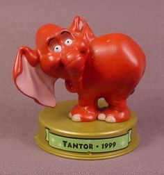 Mcdonalds Disney 100 Years Of Magic Tantor Figure On Base, Tarzan