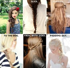 the very many fishtail braids - The Bare Intimates