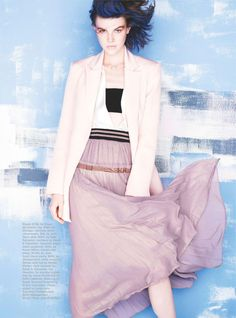 lightness of being: ruby jean wilson by david gubert for marie claire australia august 2014
