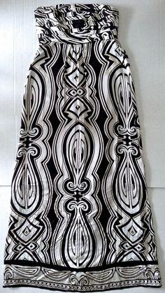 White House Black Market 100% Silk Pleated Maxi Dress Gown Fully Lined Size 0 #WhiteHouseBlackMarket #Maxi
