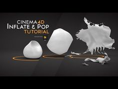 ▶ Cinema4D inflate and explode tutorialC4d inflate tutorial - YouTube