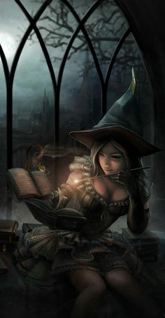Para encontrar libros de #magia en la #biblioteca de #Horizonte no basta con pedirlos en el mostrador...