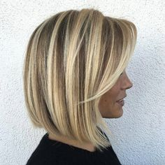 Honey Blonde with Platinum Highlights | 50 Short Hairstyles to Try Now - STYLE SKINNER