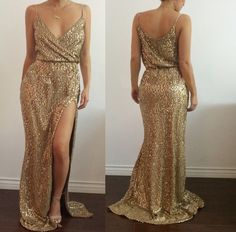 Summer Sequins Women Dress Sexy Evening Party Gowns