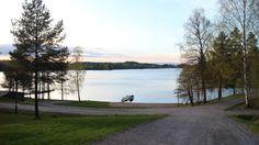 Sunset from Kisakallio Pier #Lohja #Finland #visitsouthcoastfinland