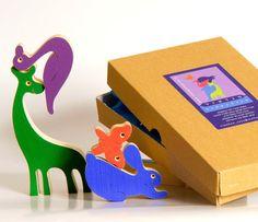 Tinocchio wooden animal puzzle