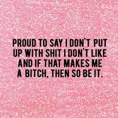 Then so be it.