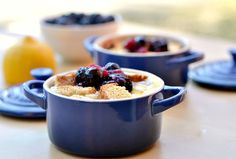 Mini Blueberry French Toast Cups