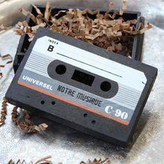 """""""musique"""" cassette box"""