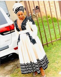 African Dresses For Women, African Print Dresses, African Fashion Dresses, African Prints, Xhosa Attire, African Attire, African Wear, South African Traditional Dresses, Traditional Outfits