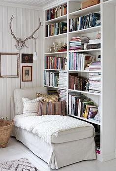 cozy reading corners, cozy nook, cozy corner, home libraries, library. Cozy Reading Corners, Book Corners, Cozy Reading Rooms, Corner Reading Nooks, Comfy Reading Chair, Cozy Nook, Cozy Corner, Library Corner, Library Books
