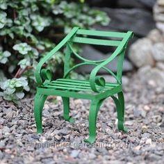 Mini Garden Chair, Green  $5.49