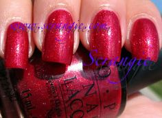 Scrangie: OPI Crimson Carol