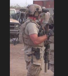 US Navy SEAL in Afghanistan.