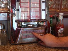 *Almost all drive-ins and diners had these table-top jukeboxes...what fun it was