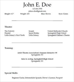 Sample Golf Pro Instructor Resume Template  How To Make A Good