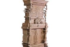 Digital Glitch Cabinet by Ferruccio Laviani