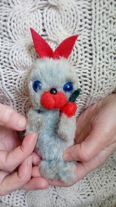 Soviet antique Bunny Vintage stuffed rabbit Russian plush toy Blue bunny Plushy rabbit Plushies Vintage soft toy 1960s Old stuffed animal #antique #plushtoy #usssrvintage #vintage #rabbit #stuffedanimals #retrotoy # #vintagetoys #antiquetoys
