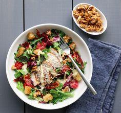 Pasta Salad, Cobb Salad, Vegetarian Eggs, Just Eat It, Healthy Salads, Squash, Great Recipes, Cravings, Food And Drink