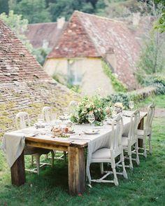 Rustic intimate dinner location | Ginny Au