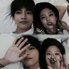 Kpop Couples, Cute Couples, Bts Taehyung, Bts Jimin, Nct Group, Bts Girl, Blackpink And Bts, Jennie Blackpink, Mamamoo