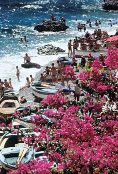 beaches of Capri