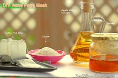 3 Homemade Acne Face Masks