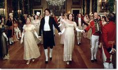 Ball as per Pride and Prejudice the television series