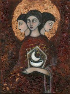Hecate, Triple Goddess, Goddess of Magic