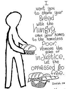 Isaiah 58 - social justice