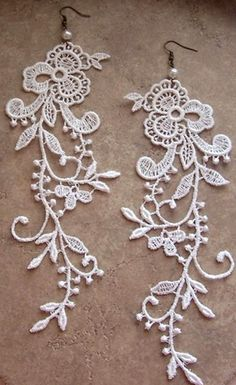 I have recently fallen in love with lace. I will have to make these :)
