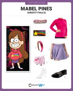 Travel up to Great Uncle Stan& dressed as Mabel Pines, the energetic from Gravity Falls on Disney XD. Easy Cosplay Costumes, Old Halloween Costumes, Costumes For Teens, Cosplay Outfits, Halloween Outfits, Halloween 2020, Halloween Ideas, Costume Ideas, Disfraz Gravity Falls