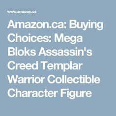 Amazon.ca: Buying Choices: Mega Bloks Assassin's Creed Templar Warrior Collectible Character Figure