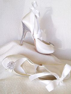 angela nuran starletta wedding heels