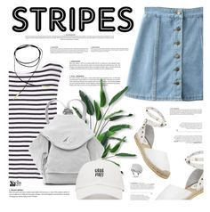 """""""S T R I P E S"""" by defivirda ❤ liked on Polyvore featuring Ash, T By Alexander Wang and MANU Atelier"""