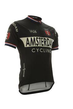 Cycling Jersey Amsterdam Black