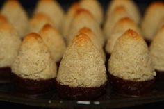 Erikas LCHF till vardag och fest: Chokladdoppade kokostoppar (LCHF)