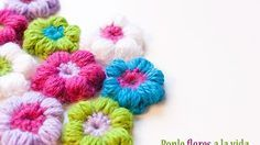Watch The Video Splendid Crochet a Puff Flower Ideas. Wonderful Crochet a Puff Flower Ideas.