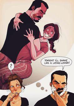 Yehuda Adi Devir simpaticas ilustraciones amor 19